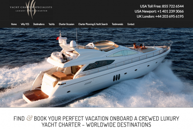 yacht charter specialists